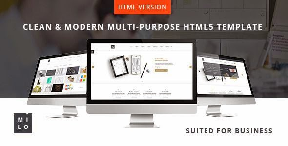 Milo - Clean & Modern Multipurpose HTML5 Template