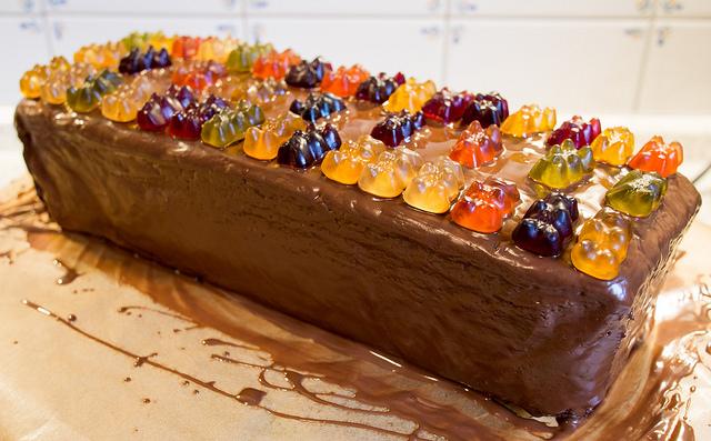 Aus Dem Lameng Ein Saftiger Schokoladenkuchen Geht Auf Die Reise