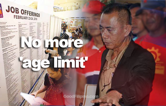 DOLE: No more 'age limit' in employment