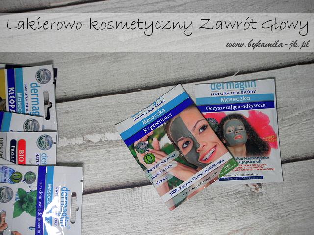Dermaglin maseczka regenerująca oczyszczająco-odżywcza glinka
