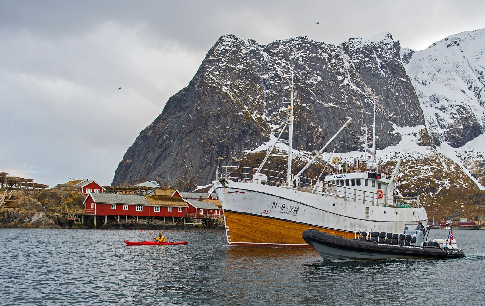 Today, Lofoten remains a center of the cod industry but fishing is a now a year-round activity on a much grander scale.