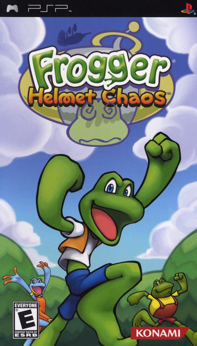 Frogger - Helmet Chaos - PSP - ISO Download