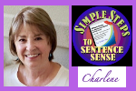 Photo and logo for Charlene Tess Simple Steps to Sentence Sense