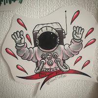 космонавт тату в уфе