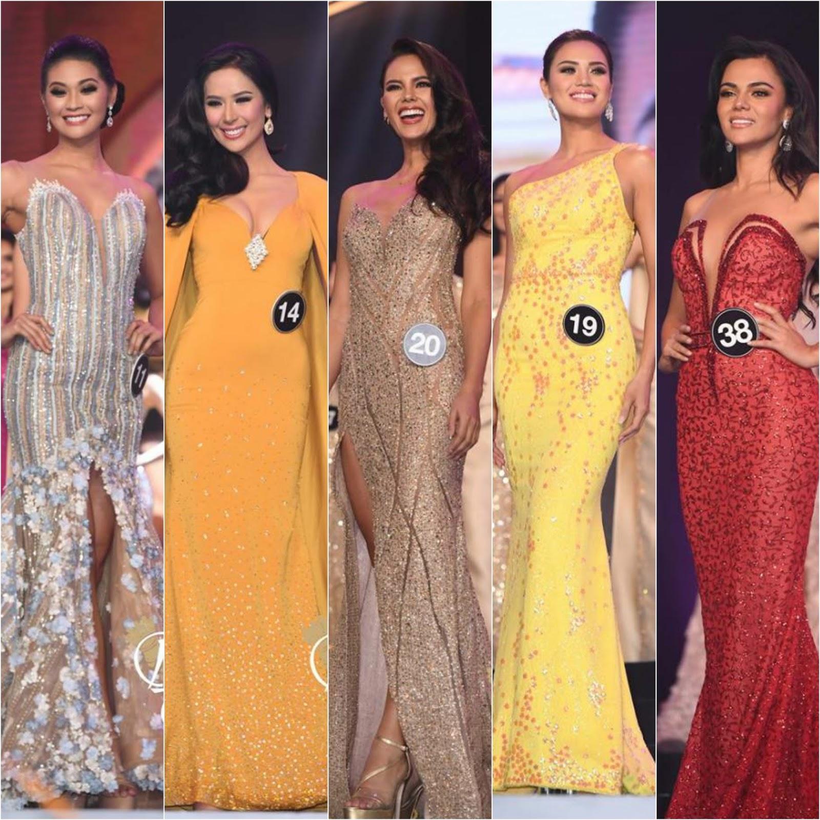 SASHES AND TIARAS     Binibining Pilipinas 2018 Finals