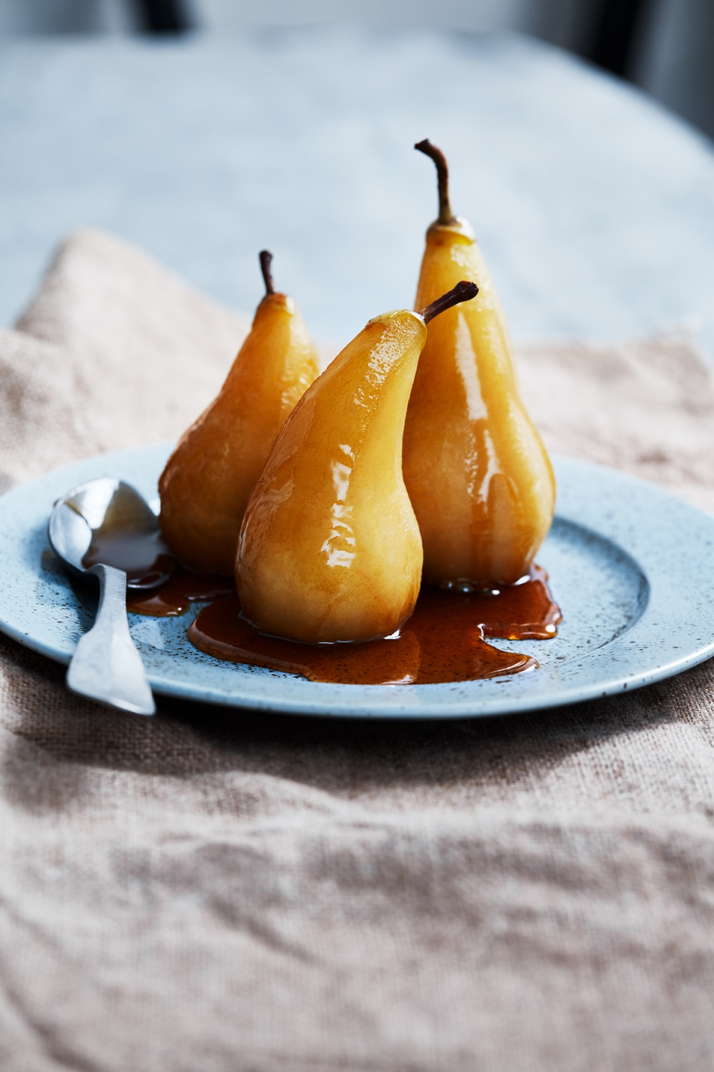 A Recipe From Milly's Cookbook: Cinnamon And Chai Tea Poached South African Pears