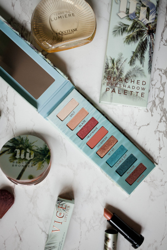 Beauty: Urban Decay Beached palette review