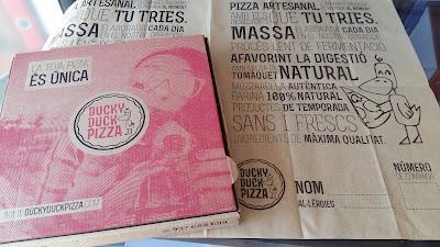 papel marrón antigrasa impreso y caja de pizzas personalizadas