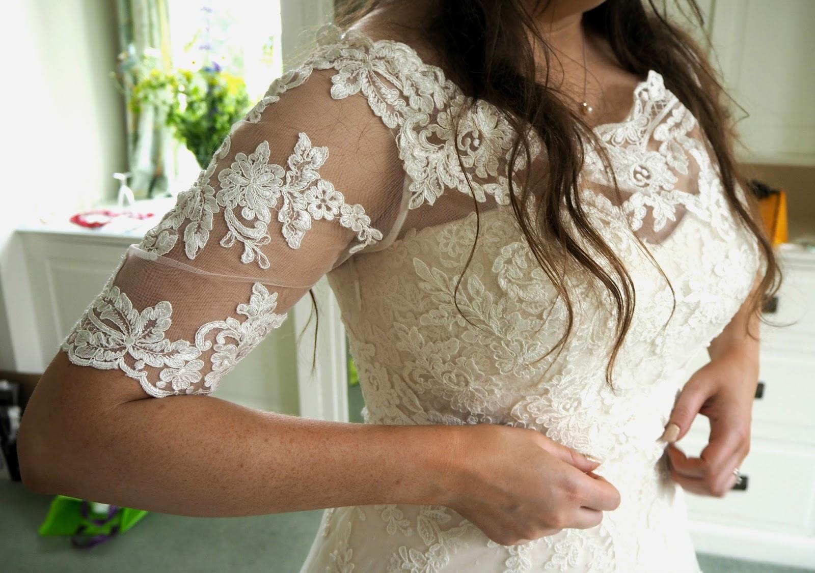 The wedding top