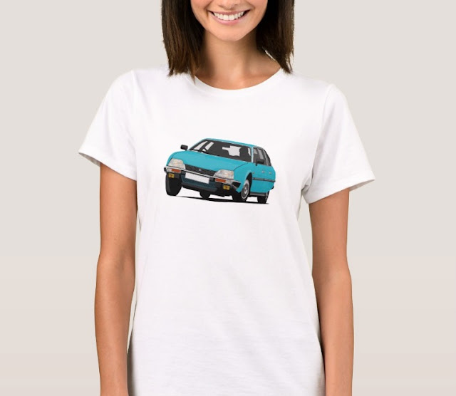 Citroën CX GTi t-shirts