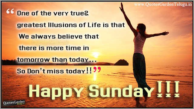 Happy Sunday quotes with beautiful thoughts