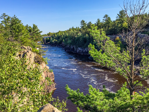 St. Croix National Scenic River from Angle Rock at Interstate State Park
