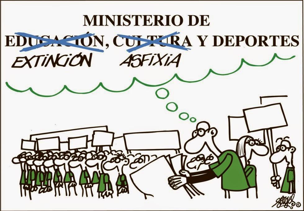 Comunicado FETE-UGT Ceuta, MECD en la era PP