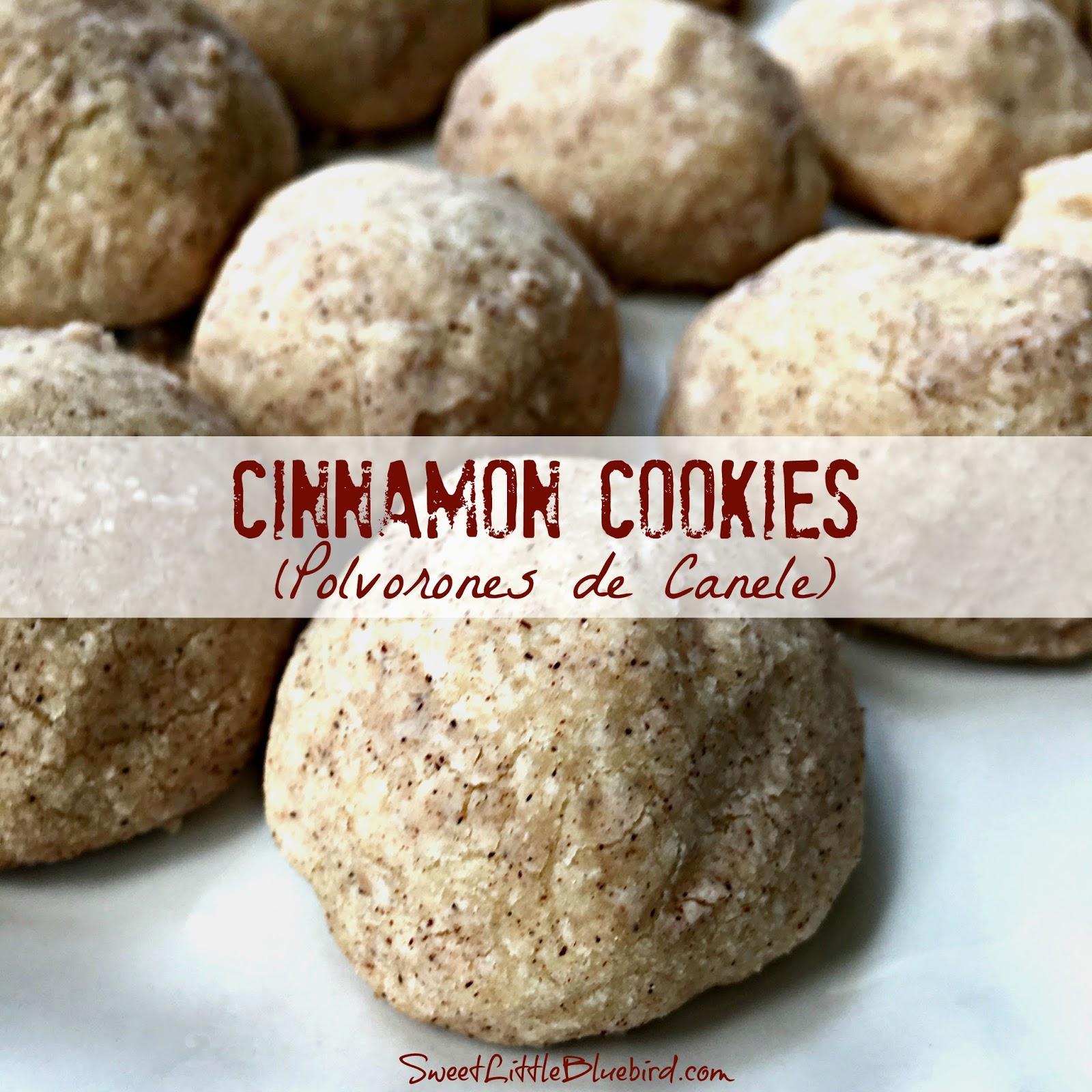 Cinnamon Cookies Polvorones de Canele   Sweet Little Bluebird