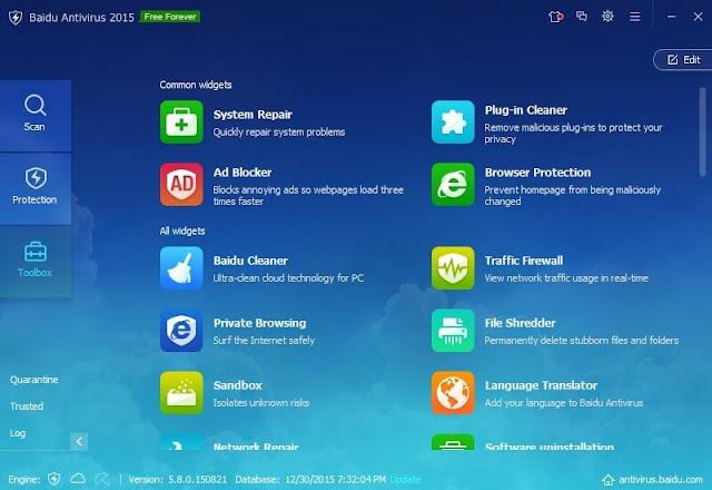 تحميل برنامج بايدو انتي فيروس اخر اصدار - Baidu Antivirus مجانا