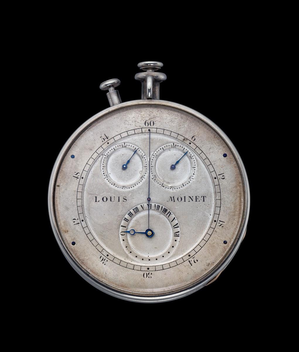 Louis Moinet debajo del reloj10