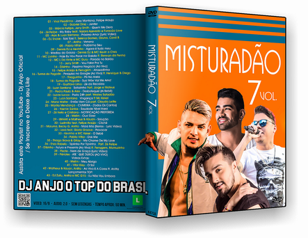 CAPA DVD – Misturadão Vol.7 – DVD-R