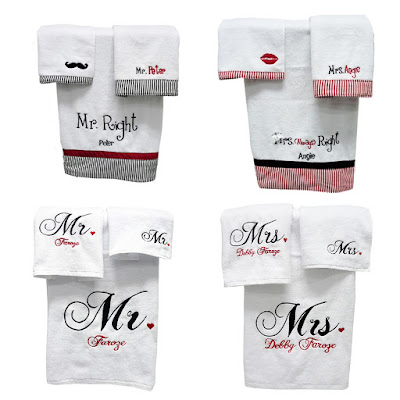 Valentine Towel Set