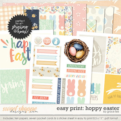 Easy Print: Hoppy Easter