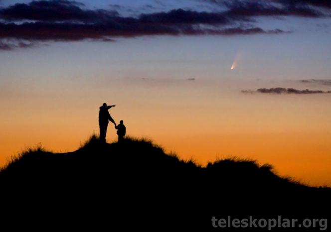 Astronomi ve uzay bilimleri bölümü teleskoplar