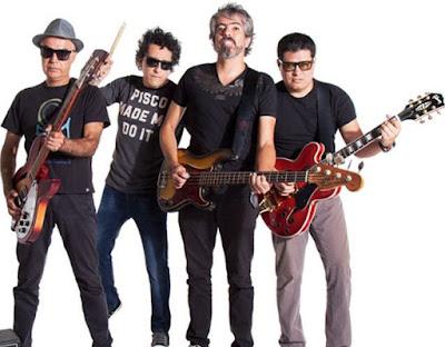 Foto de Cementerio Club con sus guitarras