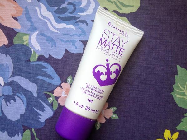 Rimmel Stay Matte Primer Review