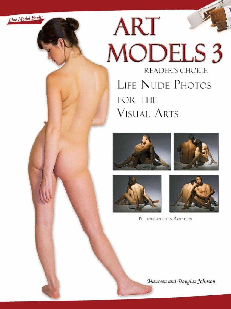 Art Models: Live Model Books [8 PDF]