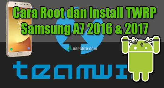 Setelah beberapa waktu yang kemudian saya sudah membahas wacana  Cara Root Samsung A7 2016, A7 2017 Dengan/Tanpa PC