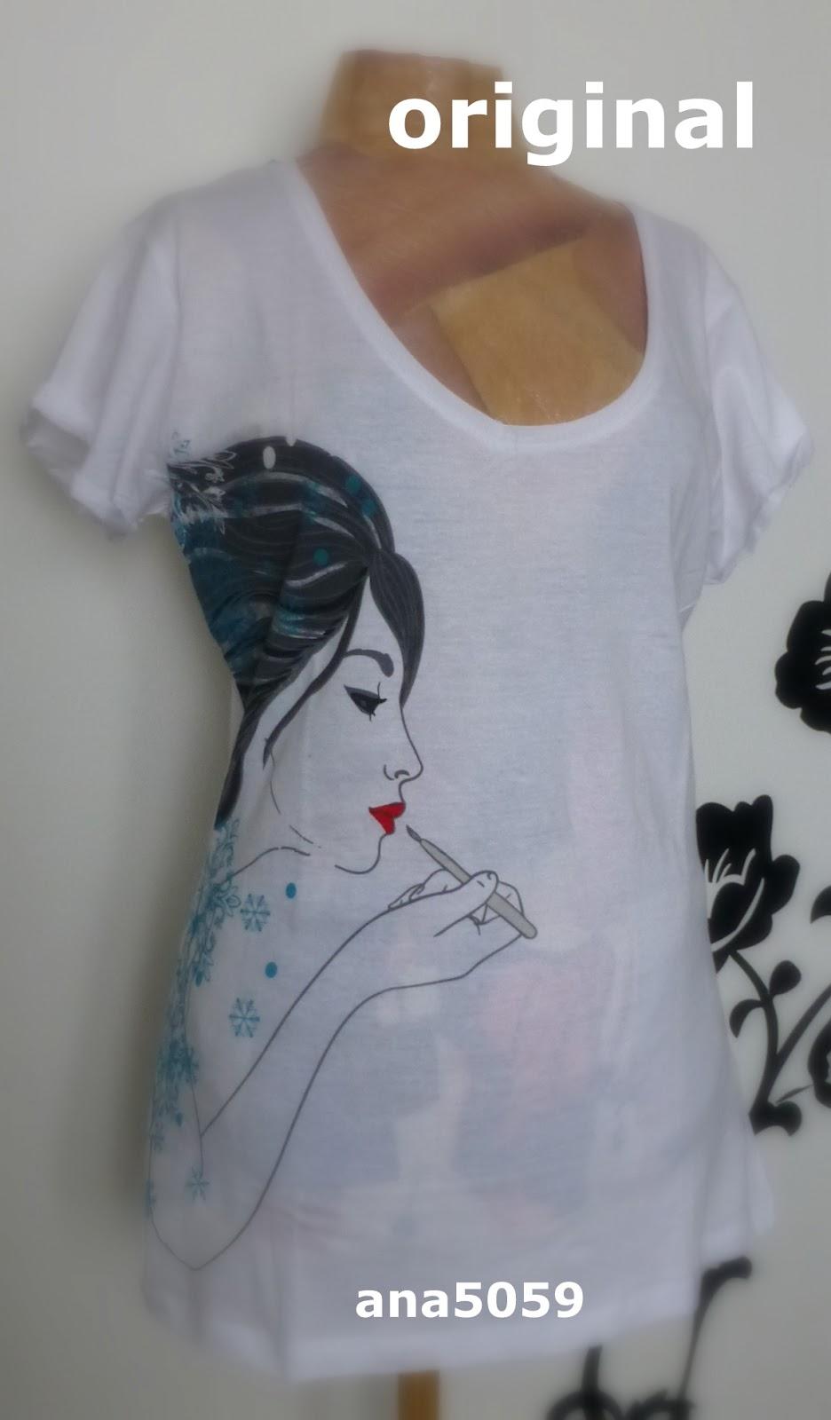 DIY camiseta con mensaje - <i>DIY message T shirt</i> - ¿Qué puedo ...