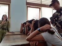 Pasangan Muda Mudi Terjaring Razia di Kamar Kos