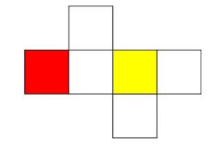 gambar jaring jaring kubus 6