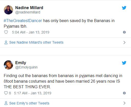 B1 and B2 Bananas and Pyjamas/Pop Inquirer