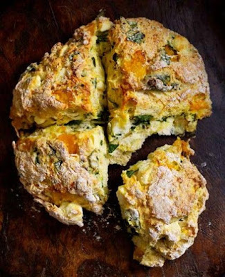 Spinach and Feta Damper rv recipes