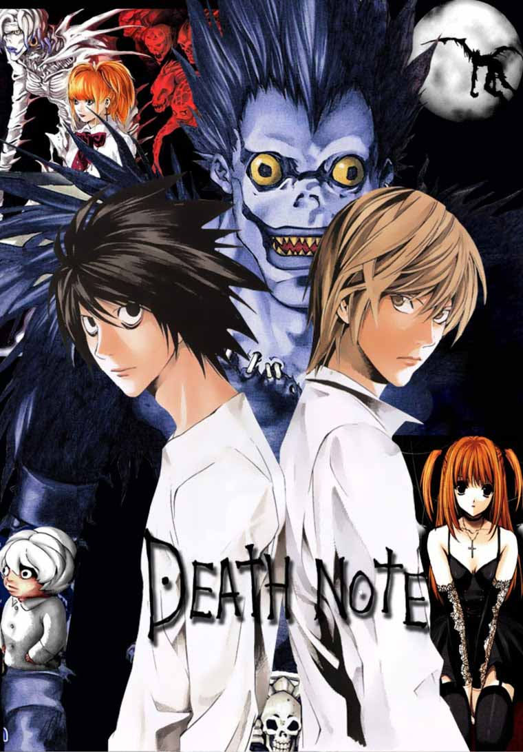 Death Note Completo Torrent - BluRay 720p Dublado (2006)