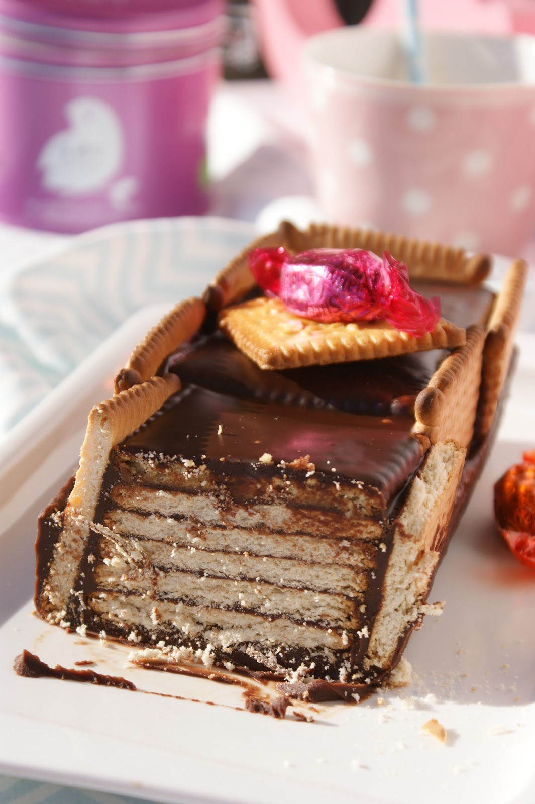Afternoon Tea: Gâteau aux petits beurre breton et au chocolat