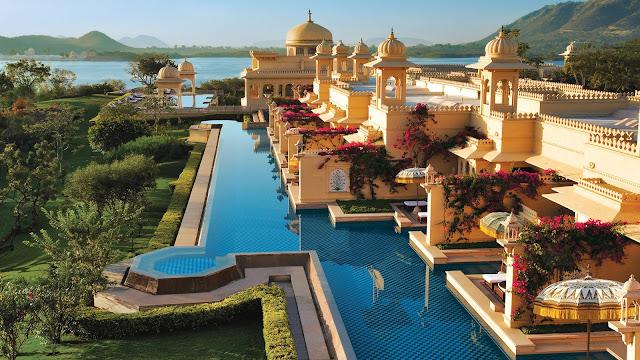 Oberoi Hotel, Udaipur, India