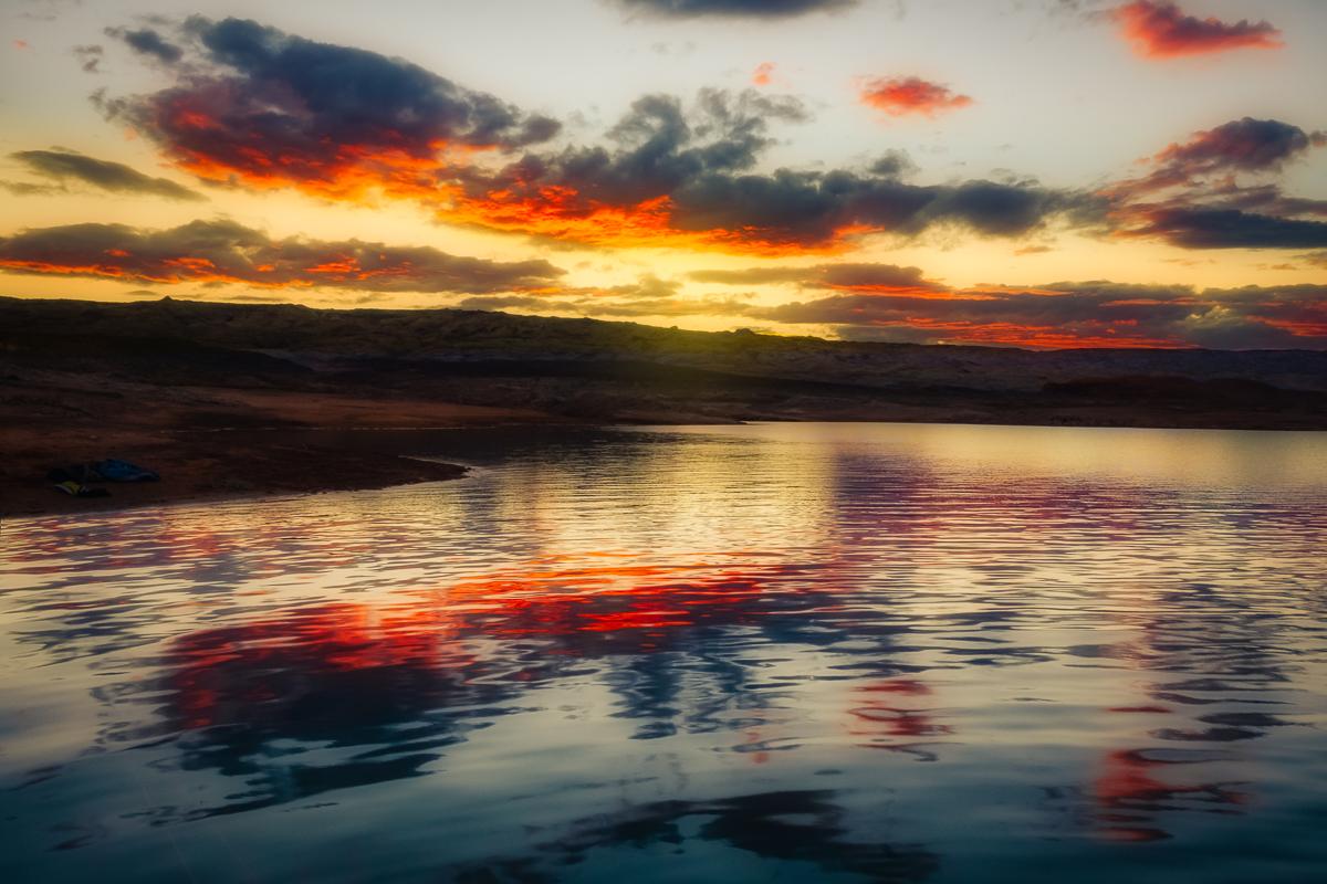 Naked Lake powell