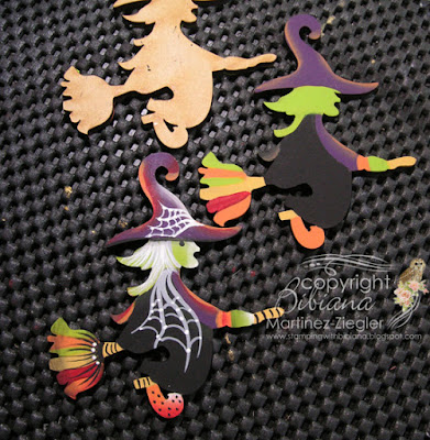 witch hat pin steps