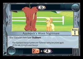 My Little Pony Applejack's Worst Nightmare High Magic CCG Card