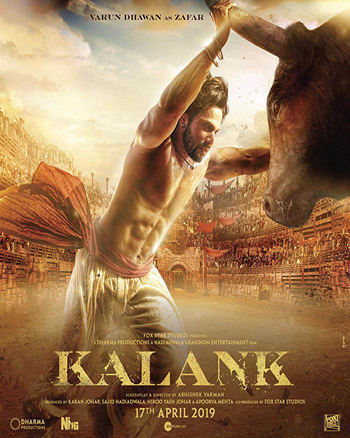 Kalank 2019 Hindi Movie DVDScr 720p 700MB movie poster