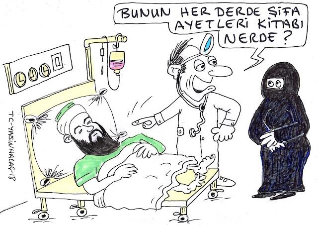 cübbeli ahmet karikatür
