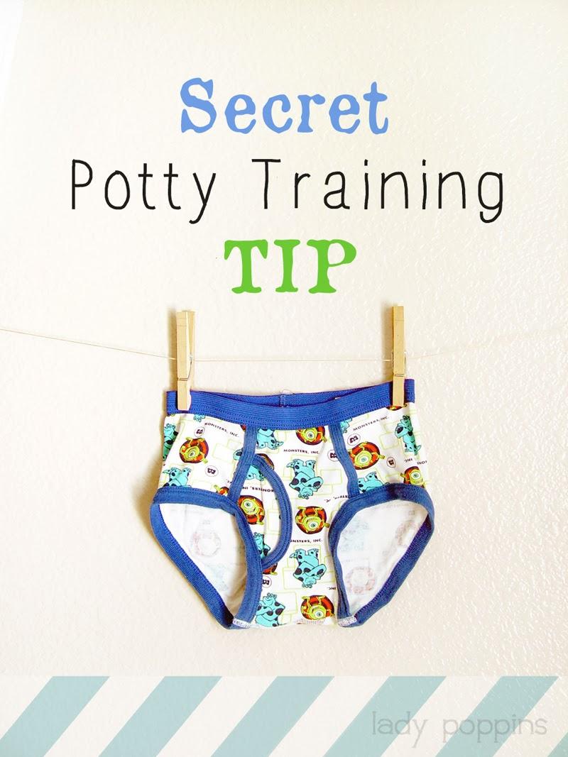 Lady Poppins: My Secret Potty Training Tip