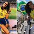 Δύο Βραζιλιάνες στις κερκίδες