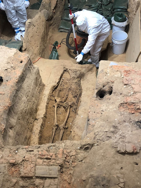 Headless skeleton unearthed in Jamestown may belong to America's first governor