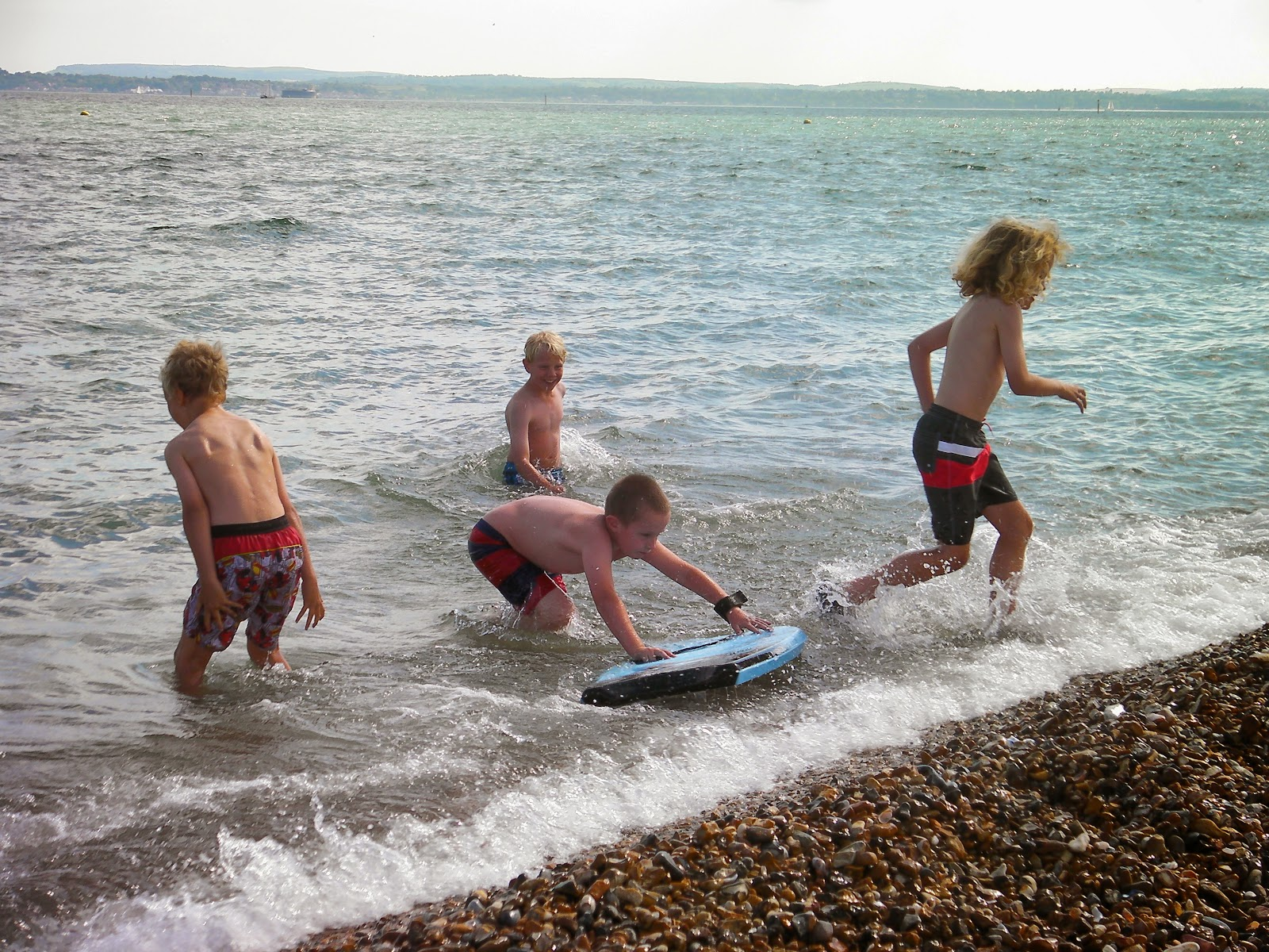 no fear slickboard sports direct on southsea shingle beach