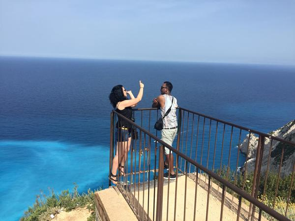 This is the spot where the most amazing pictures of Navagio Beach have been taken.