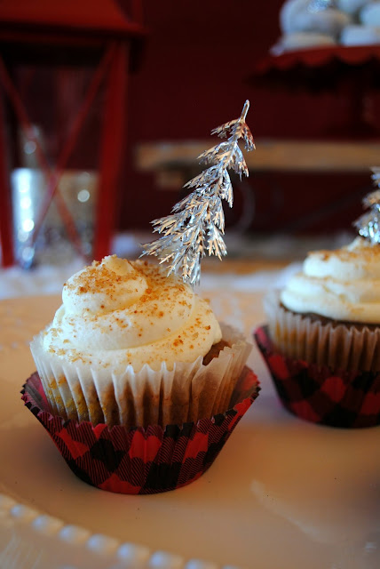 New Years wintery cupcakes