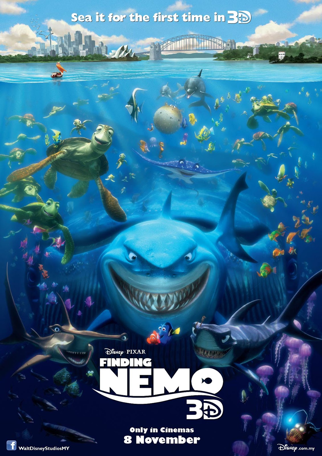 Movie Review: Finding Nemo 3D