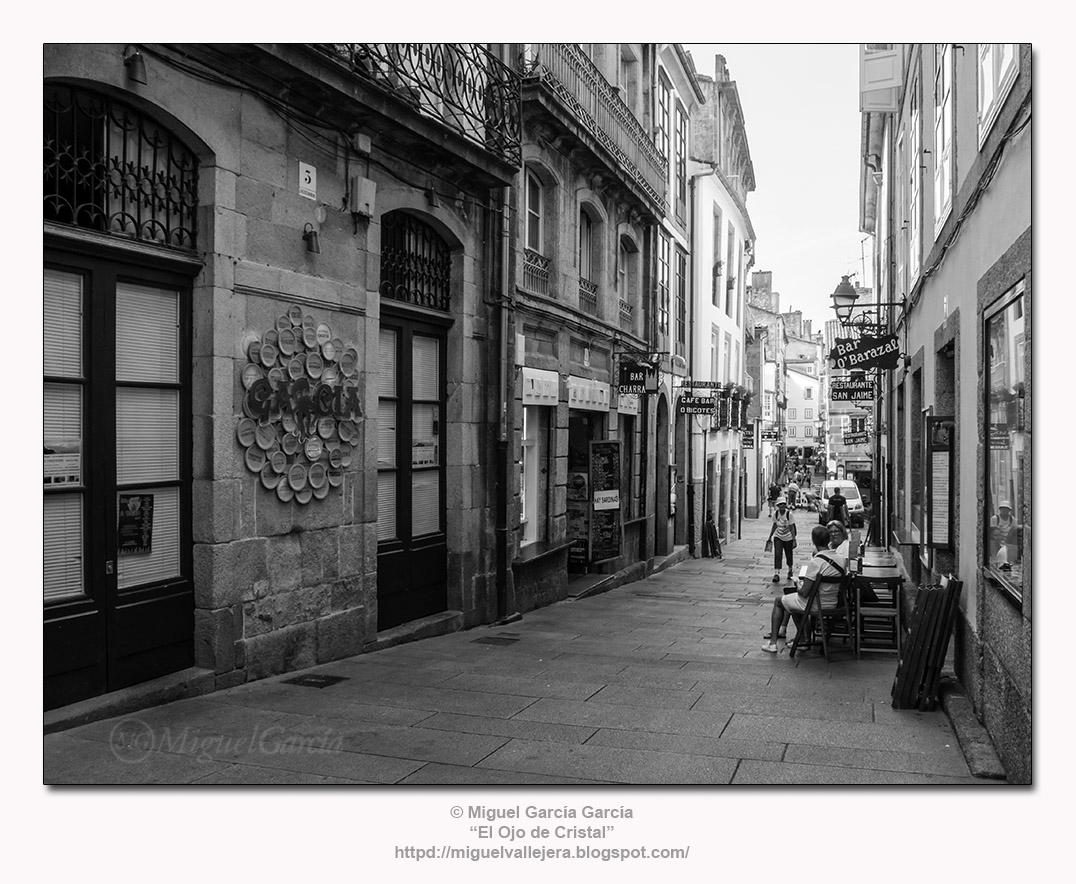 Santiago de Compostela, Rúa da Raíña.