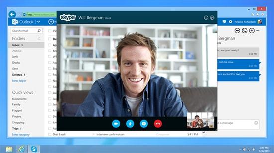 تحميل برنامج سكايب للمراسلة بالنص وفيديو بالصوت والصورة